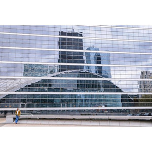 """La Défense"" Photo Print, Canvas Print, 60x40 cm"