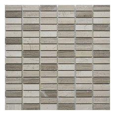 "12""x12"" Nevada Collection, Willow, Brick, Polished, Set of 5"
