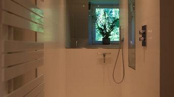 Klassisch modernes Badezimmer in Großhansdorf bei Hamburg