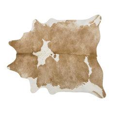 Pergamino Palomino And White Cowhide Rug, Extra Extra Large