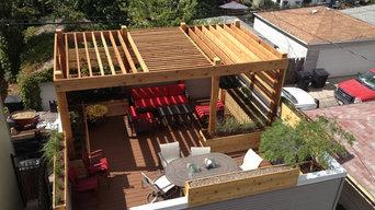 Garage Rooftop Retreat