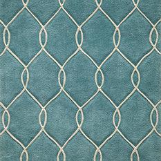 momeni rugs bliss handtufted and hardcarved polyster rug teal