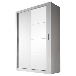 Togo 2-Door Sliding Wardrobe, Matte White
