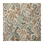 Designer Roman Shades Plain Fold, 30Wx61H, Seaglass