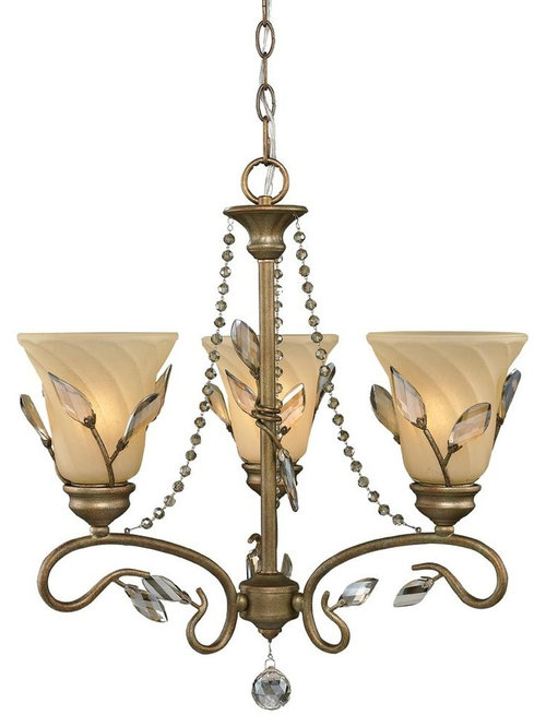 Golden beau jardin garden chandelier collection for Beau jardin