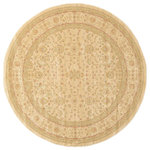 Unique Loom - Unique Loom Edinburgh Aurinia, Cream, 6'x6', Round - The classic look of the Edinburgh Collection is sure to lend a dignified atmosphere to your home. With an array of colors and patterns to choose from, there�s a rug to suit almost any taste in this collection. This Edinburgh rug will tie your home�s decor together with class and amazing style.