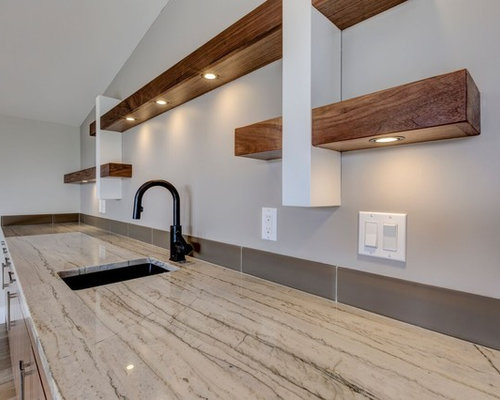Wet Bar With Laminate Floors Design Ideas Pictures