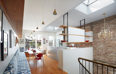 Houzz Tour: A Century-Old Townhouse Gets a Fresh, Modern Update