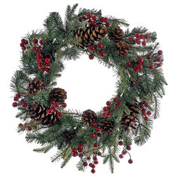 Traditional Wreaths And Garlands by Kurt S. Adler, Inc.