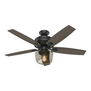 Hunter Fan Company 52 Mill Valley Ceiling Fan With Light Farmhouse Ceiling Fans Nashville By Hunter Fan Company