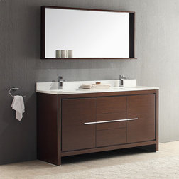 Cute Modern Bathroom Vanities And Sink Consoles by DecorPlanet
