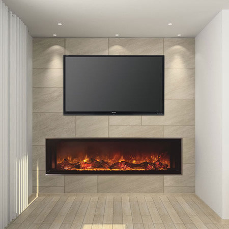 One of the greatest difficulties of owning a fireplace is upkeep – and that's where electric fireplaces have an advantage. Producing zero emissions