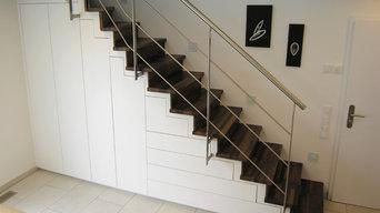 Treppenschrank auf Maß