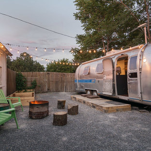 Eclectic gravel patio photo in Salt Lake City with no cover