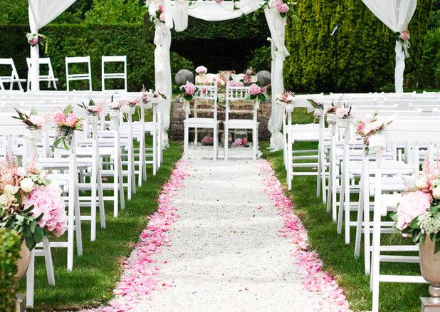 R ception un mariage romantique organis dans un ch teau for Au jardin wedding