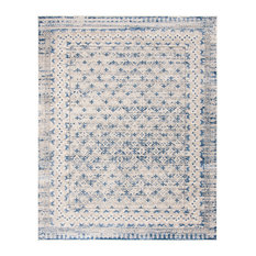 Safavieh Brentwood Collection BNT899 Rug, Light Grey/Blue, 8'x10'