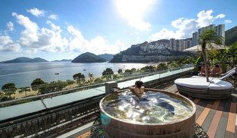 Cabana Hot Tubs for Hong Kong Champagne Bar