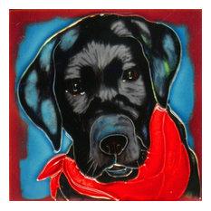 Labrador Retriever Dog Tile