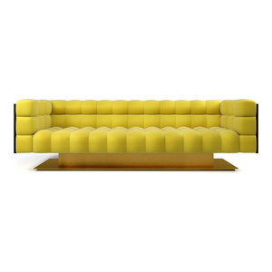 Brass Plinth Sofa  EcoFirstArt