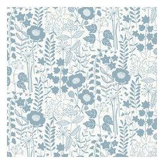 Lou's Garden, Blue-Gray, Roll
