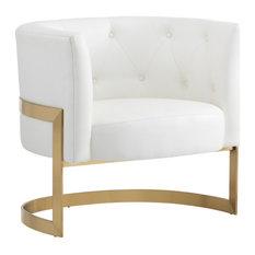 Elson Club Chair White