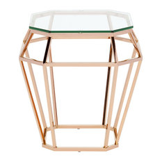 Amazing Nuevo Living Diamond Styled Side Table Hgsx179   Side Tables And End Tables