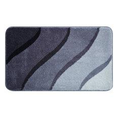 Medium Duna Bath Mat, Grey, 60x100 cm