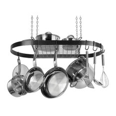 Range Kleen Oval Pot Rack, Black