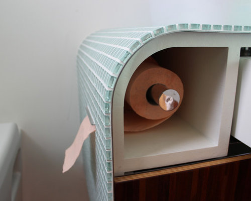 Hidden toilet paper ideas pictures remodel and decor for Hidden bathroom pics