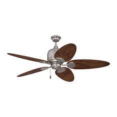 "Craftmade K11226 Kona Bay 54"" 5 Blade Indoor / Outdoor Ceiling Fan with Blades"