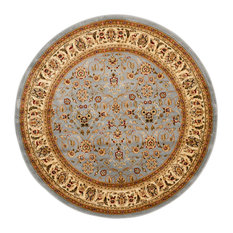 Safavieh Babette Woven Rug, Light Blue and Ivory, 10'x10' Round