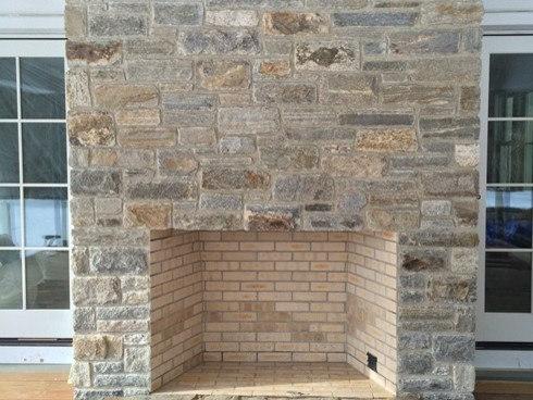 Golden Creek Ashlar and ledgestone mix - Bricks And Masonry
