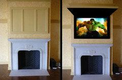 Erie Custom Home - Contemporary - Living Room - Atlanta - by Terracotta Design Build