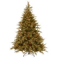 7.5' Frasier Grande Tree With Dual Color LED Lights