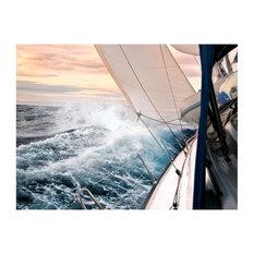 Sailing Waters Wallpaper Mural, 350x270 cm