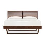 Contour Platform Bed, Natural Walnut, California King