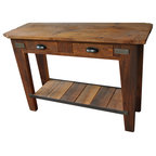 Sauder Carson Forge Smartcenter Side Table In Washington