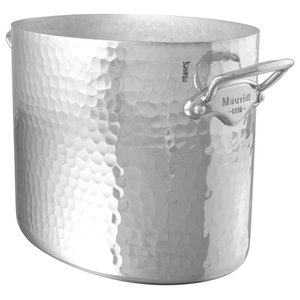 Mauviel M'30 Hammered Aluminium Oval Ice Bucket
