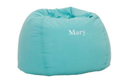 Pool Washed Twill Large Beanbag   PBteen