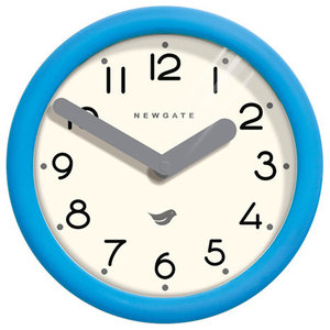 Newgate Pantry Wall Clock, Aqua Blue