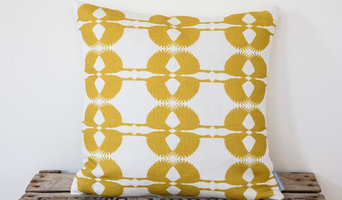 Mustard Sparrow Cushion