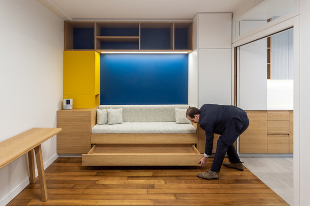 Современный Семейная комната by ARCHITECT + DESIGNER