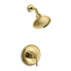 Kohler Devonshire Rite-Temp Shower Trim Set, Vibrant Polished Brass