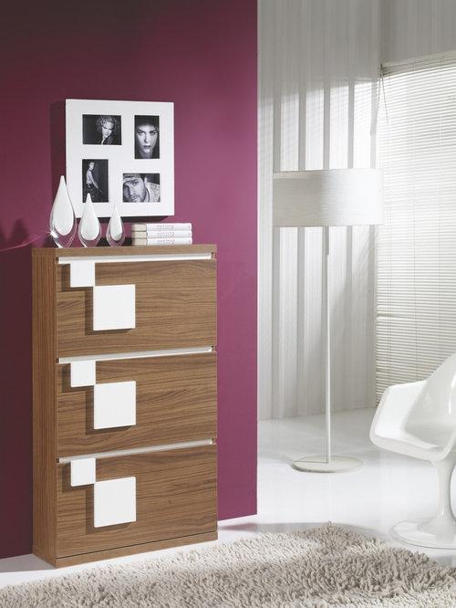 Muebles recibidores mesas centro y zapateros modernos - Recibidores zapateros modernos ...