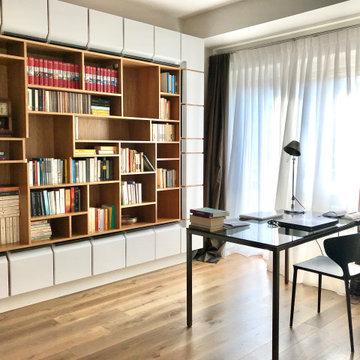 Librerie, pareti attrezzate, scaffali