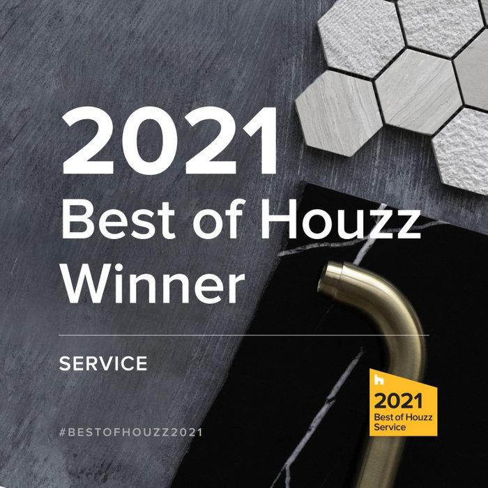 2021 - Best of Houzz Winner Service!