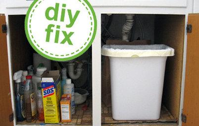 Quick Project: Brighten the Space Under Your Kitchen Sink