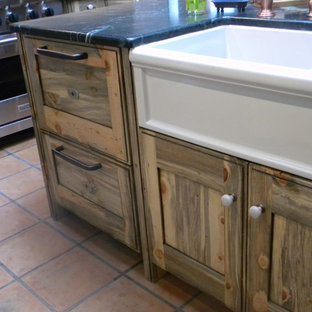 Beetle Kill Pine Cabinets Houzz