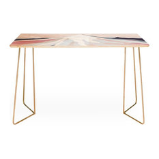 Deny Designs Iveta Abolina Off The Grid Purple Desk