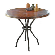 """Woodland Bistro Table With 36"""" Round Top"""